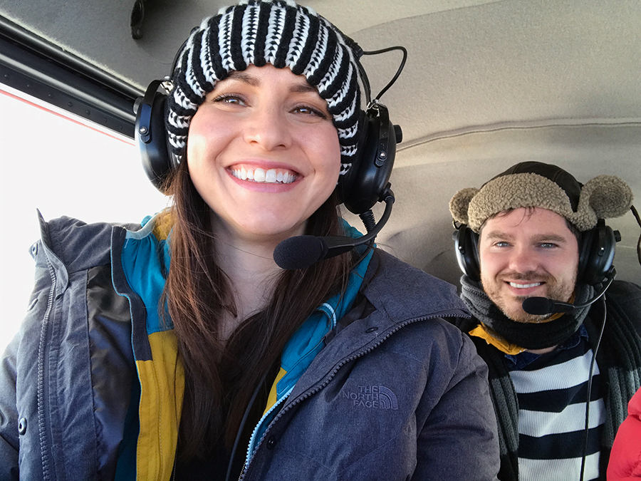 Marriage Proposal in a Plane